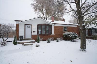Southgate Single Family Home For Sale: 16755 Cameron Street