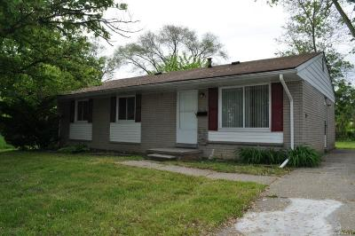 Inkster Single Family Home For Sale: 26253 Plum Street