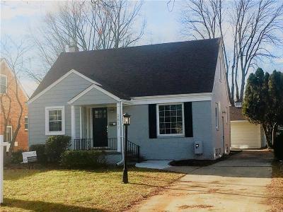 Royal Oak Single Family Home For Sale: 2617 N Wilson Avenue