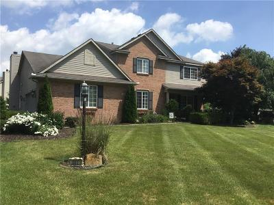Milford Twp Single Family Home For Sale: 337 Mill Pond Lane