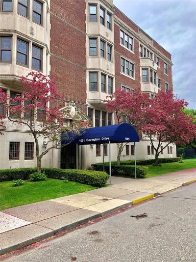 Detroit Condo/Townhouse For Sale: 1001 Covington Drive #3
