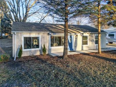 Lake Orion, Orion Twp, Clarkston, Independence Twp, Oxford Single Family Home For Sale: 3831 Queensbury Road