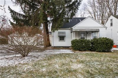 Southfield Single Family Home For Sale: 21785 Negaunee Street