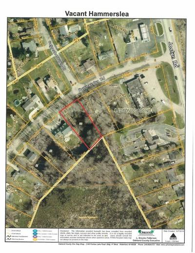 Orion Twp MI Residential Lots & Land For Sale: $25,000