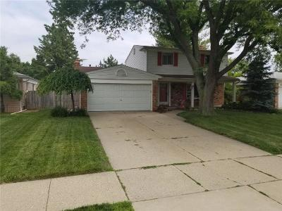 Sterling Heights Single Family Home For Sale: 13135 Plumbrook Road