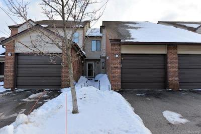 West Bloomfield, West Bloomfield Twp Condo/Townhouse For Sale: 6660 Ridgefield Circle #202