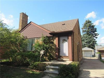 Dearborn Single Family Home For Sale: 23260 Edward Street