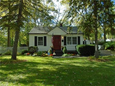 Southfield Single Family Home For Sale: 30423 Brentwood Street