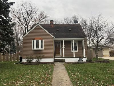 Macomb County Single Family Home For Sale: 21844 Alger Street