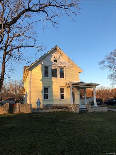Harrison Twp Single Family Home For Sale: 28651 S River