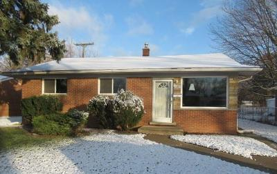 Inkster Single Family Home For Sale: 29482 Thomas Circle