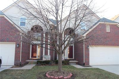 Canton Twp Condo/Townhouse For Sale: 2090 Preserve Circle W