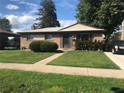 Westland MI Single Family Home For Sale: $119,900