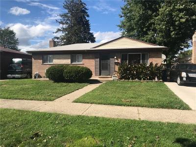 Garden City, Westland, Plymouth Twp, Canton Twp Single Family Home For Sale: 34260 Barton Street