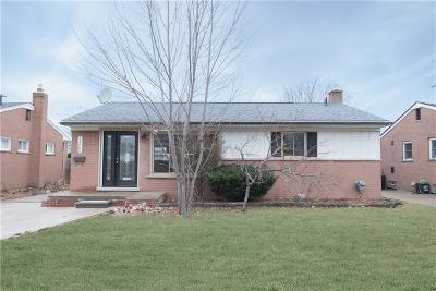 Garden City, Westland, Plymouth Twp, Canton Twp Single Family Home For Sale: 31668 Ann Arbor Trail