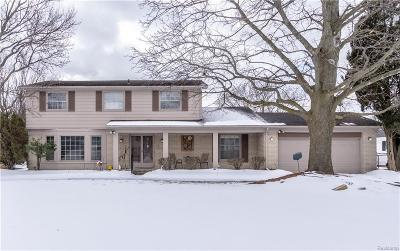 Livonia, Redford Twp, Farmington Hills, Farmington, Southfield Single Family Home For Sale: 32623 Olde Franklin Drive