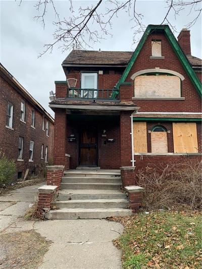 Detroit Multi Family Home For Sale: 3962 Helen Street
