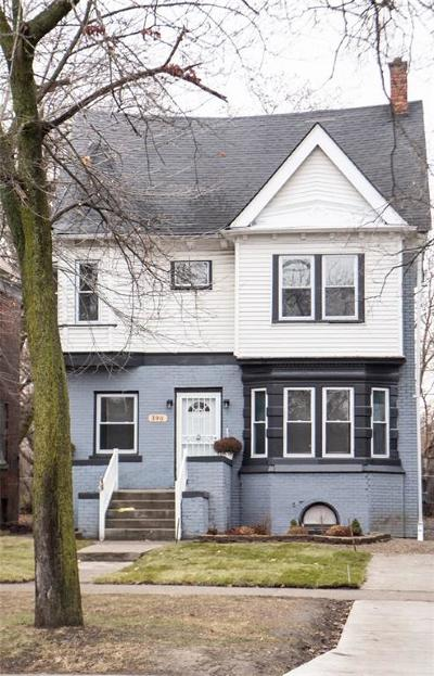 Detroit Single Family Home For Sale: 390 E Grand Boulevard