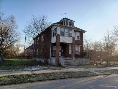 Macomb County, Oakland County, Wayne County Multi Family Home For Sale: 3771 Burlingame Street