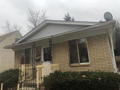Detroit Single Family Home For Sale: 6751 Evergreen Avenue