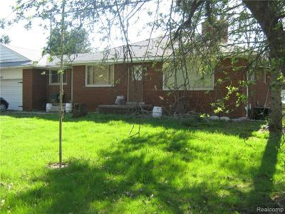 Lyon Twp Single Family Home For Sale: 26615 Johns Road