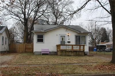 Pontiac Single Family Home For Sale: 37 E Princeton Avenue