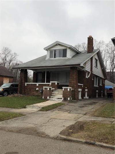 Macomb County, Oakland County, Wayne County Single Family Home For Sale: 5066 Hillsboro Street