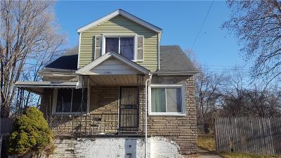 Detroit Single Family Home For Sale: 13884 Gallagher Street