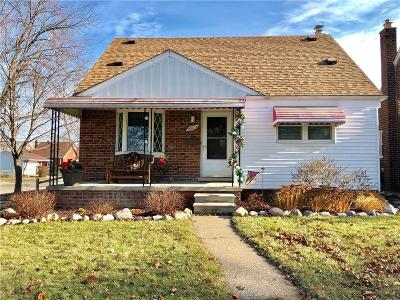 Allen Park Single Family Home For Sale: 10005 Ruth Avenue