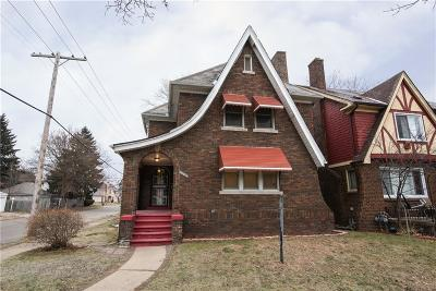 Detroit Single Family Home For Sale: 16260 Wildemere Street