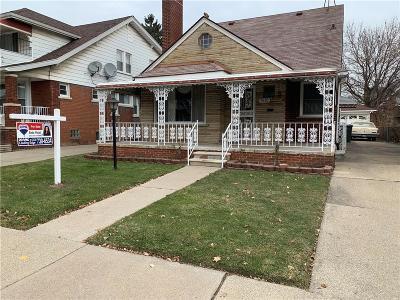 Dearborn MI Single Family Home For Sale: $189,900