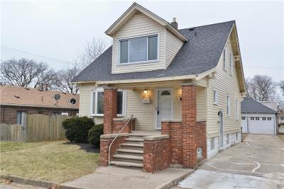 Lincoln Park Single Family Home For Sale: 2062 Austin Avenue