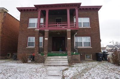 Detroit Multi Family Home For Sale: 222 Kenilworth Street