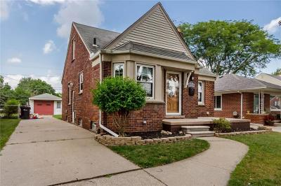 Allen Park Single Family Home For Sale: 7630 Winona Avenue