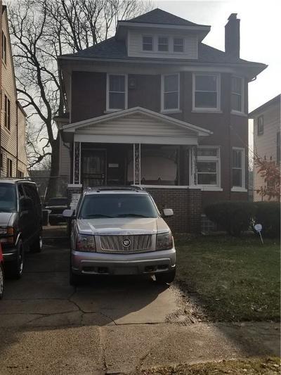 Detroit Single Family Home For Sale: 2291 Virginia Park Street