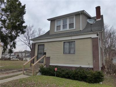 Detroit Single Family Home For Sale: 1288 Alter Road