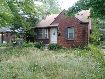 Inkster Single Family Home For Sale: 1033 Shadowlawn Street