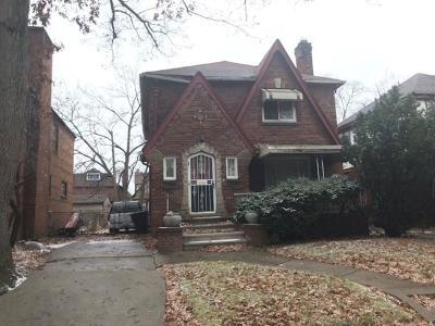 Detroit Single Family Home For Sale: 17511 Monica Street