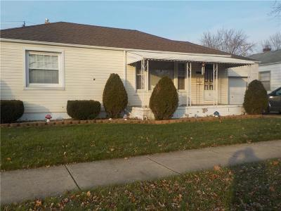 Lincoln Park Single Family Home For Sale: 1620 Pagel Avenue