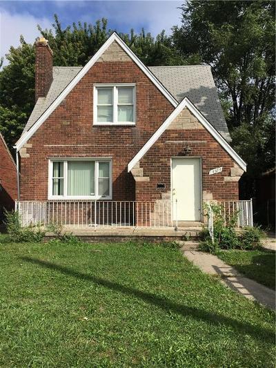 Detroit Single Family Home For Sale: 14509 Rossini Drive