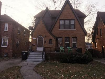 Detroit Multi Family Home For Sale: 5751 Grayton Street