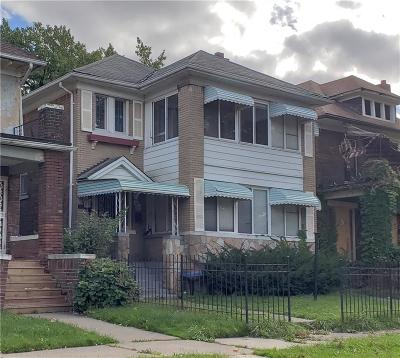 Multi Family Home For Sale: 3791 Blaine Street