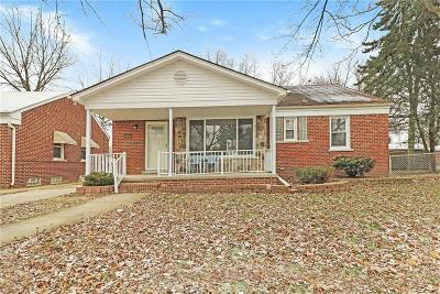 Allen Park MI Single Family Home For Sale: $145,000