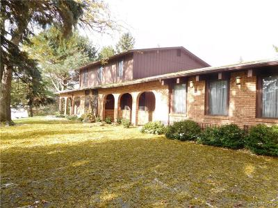 Bloomfield Twp Single Family Home For Sale: 1802 Lone Pine Road