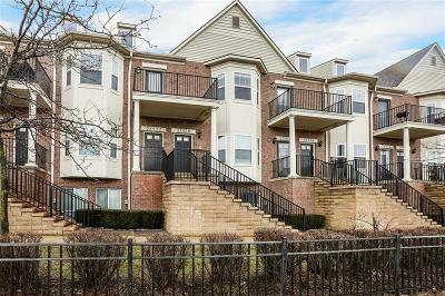 Novi Condo/Townhouse For Sale: 25520 Portico Lane