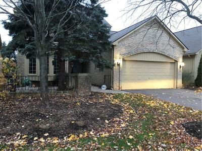 West Bloomfield Twp Condo/Townhouse For Sale: 6455 Noble, West Bloomfield, Mi 48322 Road