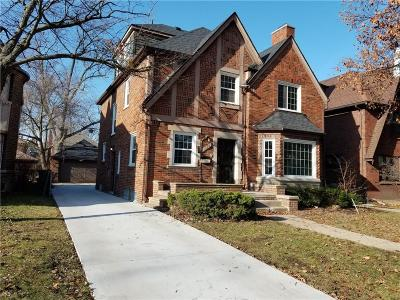 Detroit Single Family Home For Sale: 18443 Muirland Street