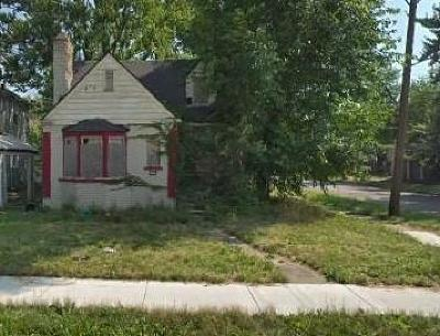 Detroit Single Family Home For Sale: 4800 Buckingham Avenue