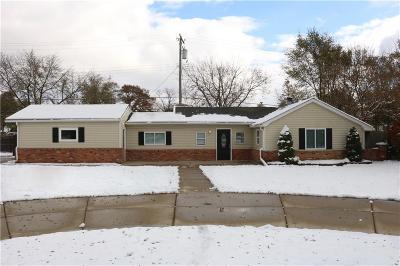 Shelby Twp MI Single Family Home For Sale: $174,900