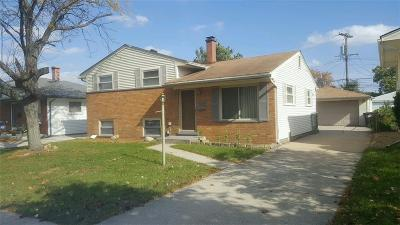Taylor MI Single Family Home For Sale: $149,900